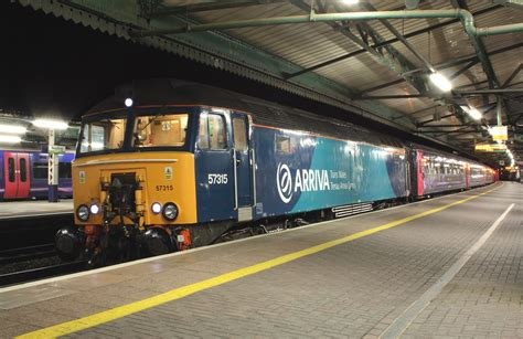 Sleeper To Penzance by Class 57