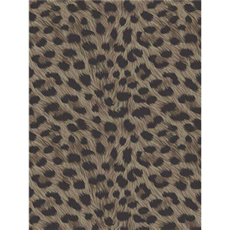 Farbige Bettdecken by Leoparden Druck Tapete Schokobraun Zinn Wandtapete