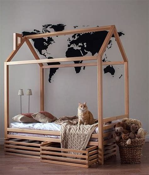 kid bed frames furniture house frame bed