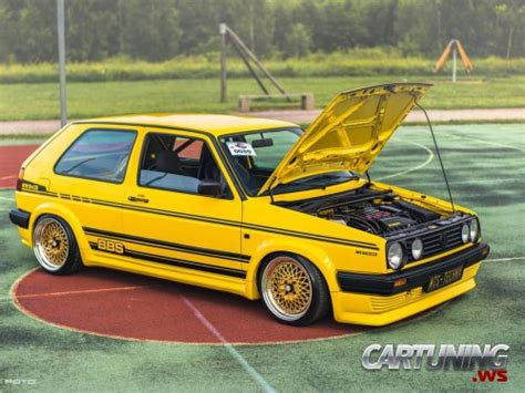 stanced volkswagen golf stanced volkswagen golf mk2 187 cartuning best car tuning