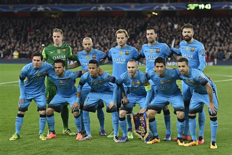 barcelona players ranking barcelona players who get most pitch time sportyou