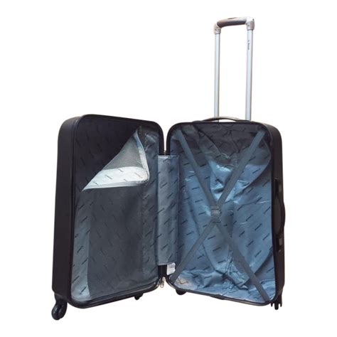 grote abs l benzi abs koffer bakoe l zilver luggage 4 all