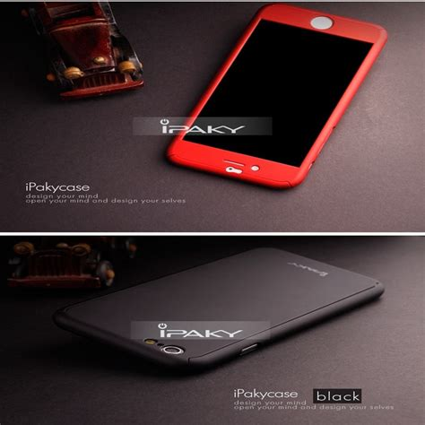 Original Ipaky Dual Layered Pc Framesilicon Back Cover Redmi Note 2 3 ipaky brand for iphone 6 3 in 1 back cover
