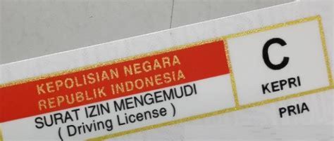 membuat sim internasional jakarta jenis jenis surat izin mengemudi sim dan syarat untuk