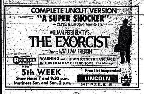 the exorcist 1973 the version you ve never seen theatrical 48 best images about horror movie promos on pinterest
