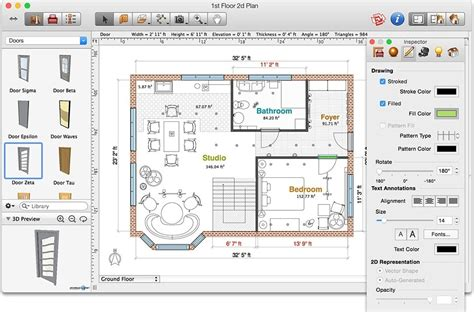 floor plan mac free program to draw floor plans for mac gurus floor