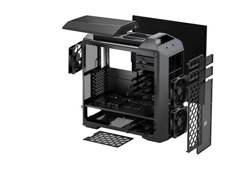 cooler master case fan cooler master introduces master case modular case series