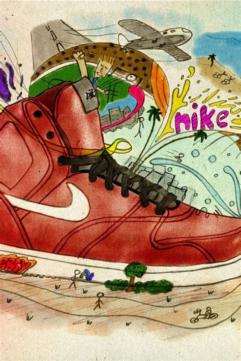 Vintage Nike Wallpaper Retro Nike Iphone 4 Wallpaper 640x960