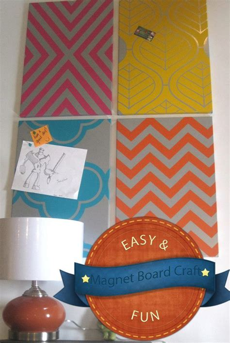 Board Magnet Dress Up magnet board makeover getting crafty