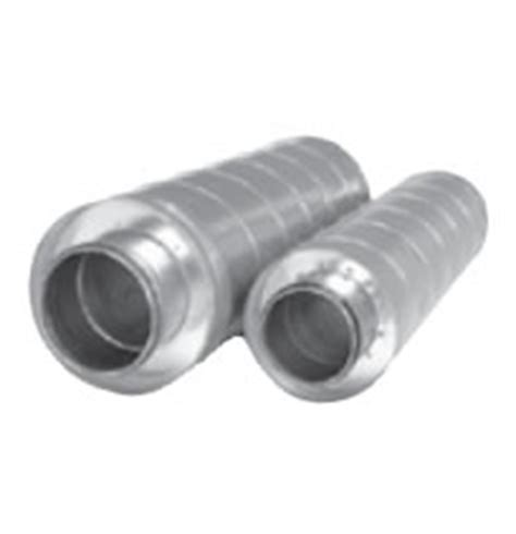 Kitchen Exhaust Silencer Hvacquick S P Sil Series Inline Duct Silencers