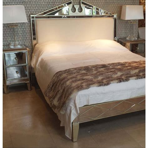 Mirrored King Bed by Antique Venetian Mirrored Bed Bedroom Company