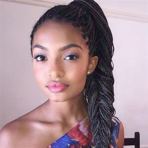homecoming hairstyles with box braids 497 best images about baddies beauties on pinterest