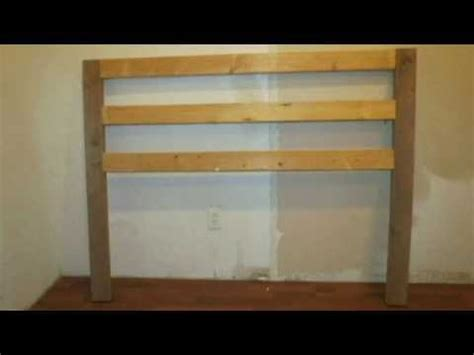 how to make a headboard youtube how to build a headboard for under 15 youtube