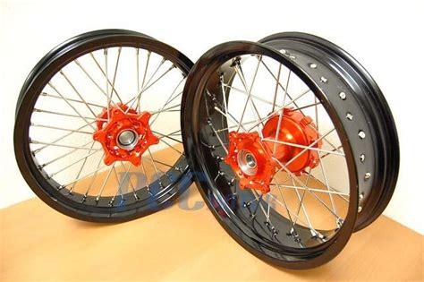 Ktm Supermoto Rims Ktm 690 Front Rear 17 Quot 17 Quot Supermoto Wheels Set Cush Hub