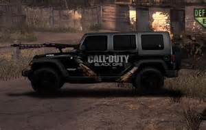 Jeep Call Back All Around The Cars Black Ops Fan New 2011 Jeep Wrangler