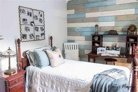 inexpensive diy beach decor ideas  small bedroom reveal martys musings