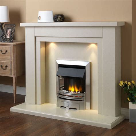 Fireplace Suites pureglow hanley marble fireplace suite fireplaces are us