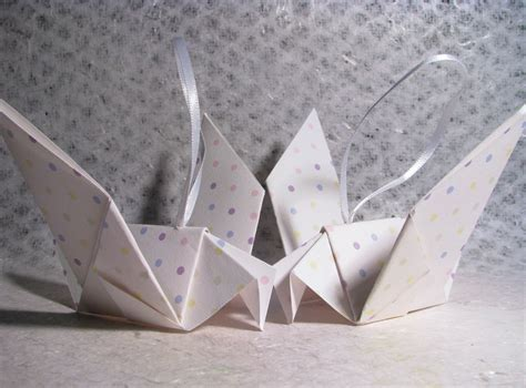 Origami Interior Design - 5 simple paper origami doves interior design idea