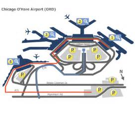 Chicago O Hare Airport Map by Chicago O Hare Airport Ord Terminal Maps Map Of All