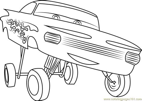 stron biz speedy mcqueen coloring pages