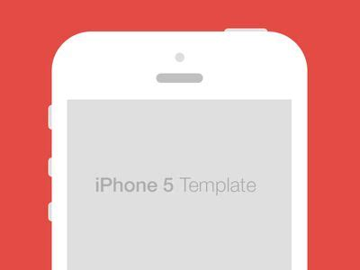 iphone 5 template iphone 5 flat template design templates available for