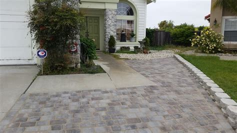 front yard pavers front yard with belgian pavers yelp