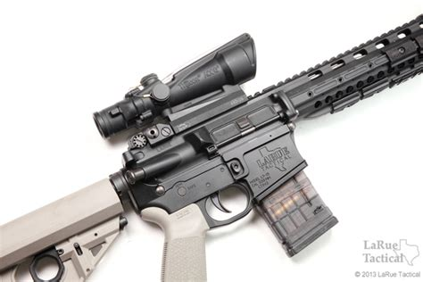 larue tactical acog mount qd lt100 larue tactical trijicon acog ta11h 3 5x35 scope red horseshoe 223