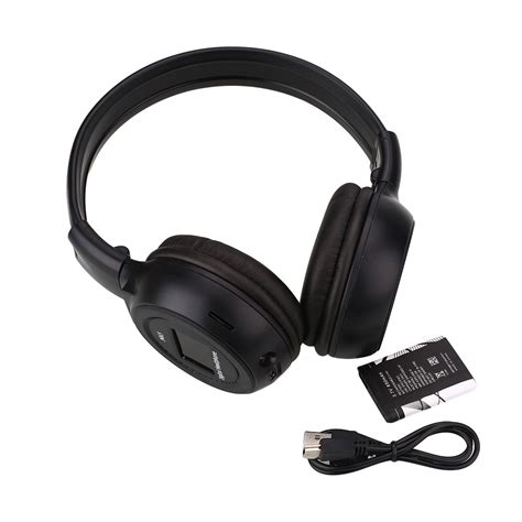 Headphone Mp3 Player Sd Card wireless stereo headphones mp3 sd card player fm radio lcd display