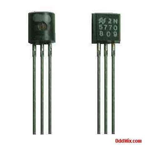 one transistor rf lifier 2n5770 transistor n p n national silicon rf lifier oscillator vintage replacement