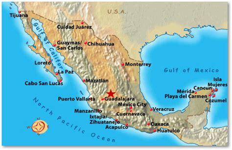 vallarta map of mexico vallarta mexico map
