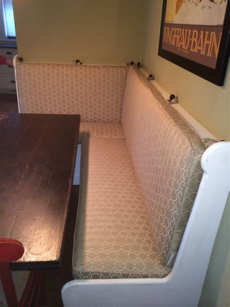 Banquette Seat Cushions by Custom Sewn Banquette Seat Bench Cushion With Cording