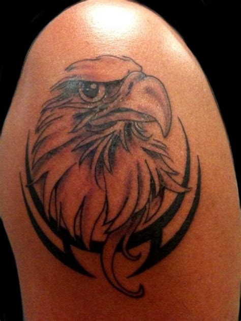 tribal shoulder tattoos meanings best 25 eagle shoulder ideas on