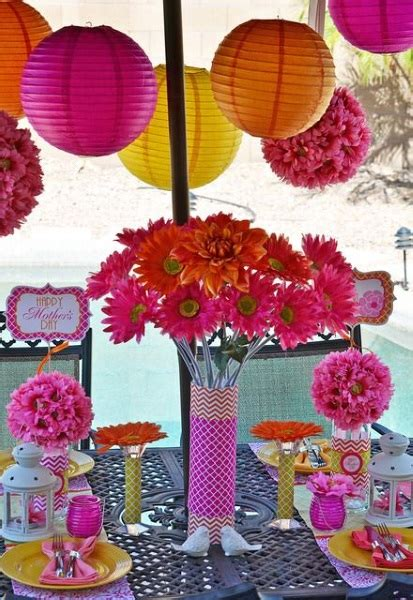 mother s day decorations 60 beautiful mother s day party ideas pink lover