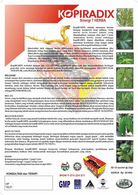 Obat Herbal Menghilangkan Mata Kuning kopi radix jual obat herbal indonesia obat alami