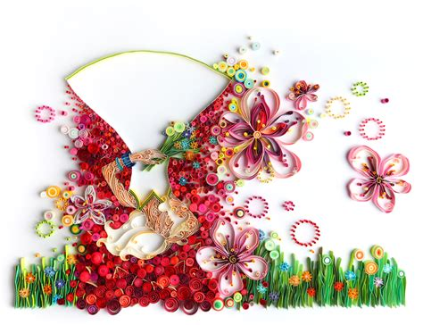 design using art paper astounding paper art rolled folded and layered