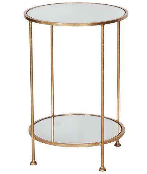 gold leaf side table chico gold leaf side table shop now