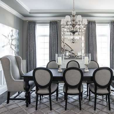 Dining Room In Grey Gray Dining Rooms On Grey Dining Rooms Brown