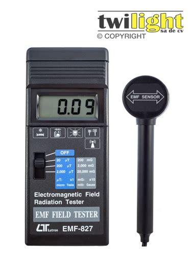 Lutron Emf 827 Emf827 Emf 827 gaussimetro portatil lt emf827