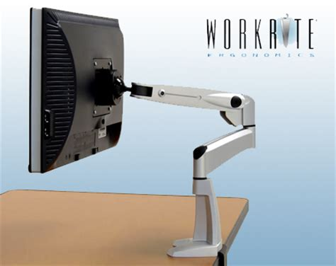 swing arm for monitor workrite flat screen monitor swing arm north coast medical