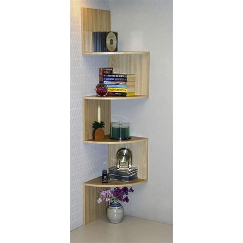 4d concepts hanging wall corner shelf storage 99100 the