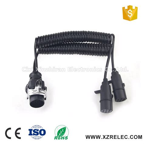 customized 15pin trailer electrical cable 7 trailer
