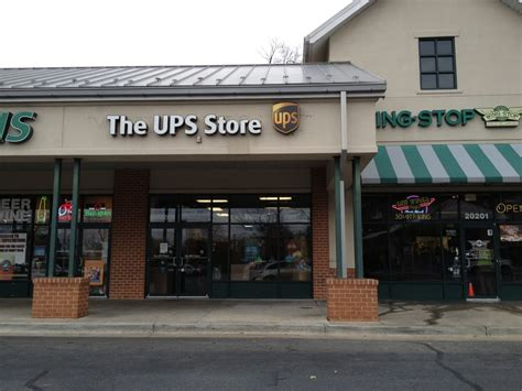 the ups store printing services 20203 goshen rd gaithersburg md phone number yelp
