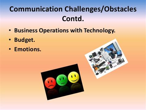 communication challenges communication challenges