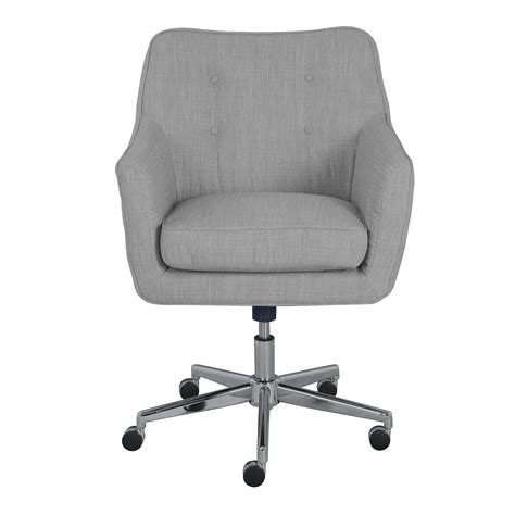 Upholstered Desk Chair Upholstered Desk Chair With Wheels