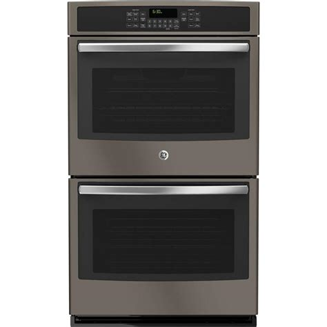 B1 Kacamata Ge 2 ge 30 in electric wall oven self cleaning with convection oven in slate