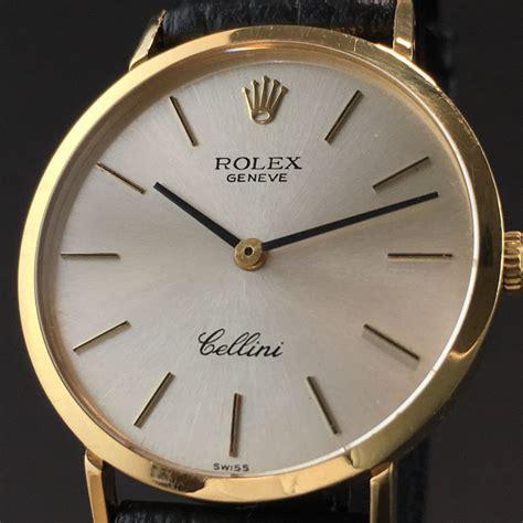 Jam Tangan Rolex Genuve Cellini 2 rolex geneve cellini 18k only swiss ref 4112