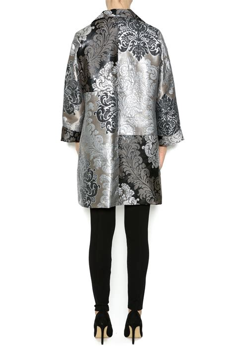 Brocade Jacket i c collection brocade silver jacket from paul by