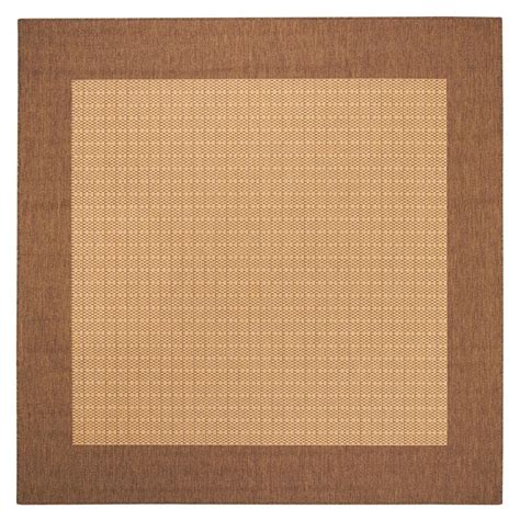 area rugs home decorators home decorators collection checkered field natural 7 ft 6