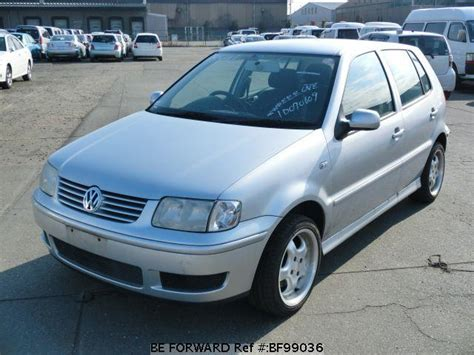 polo volkswagen 2002 used 2002 volkswagen polo gf 6nahw for sale bf99036 be