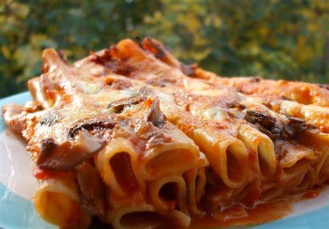 candele pasta ricette tomato basil candele al forno con funghi